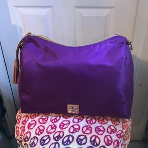 Dooney & Bourke Nylon Juliette Hobo Handbag